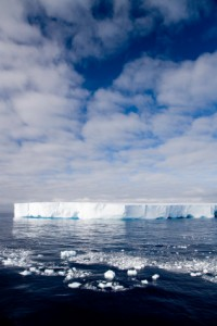 Antarctic ice shelf